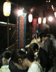 昨年の早稲田青空古本祭の様子